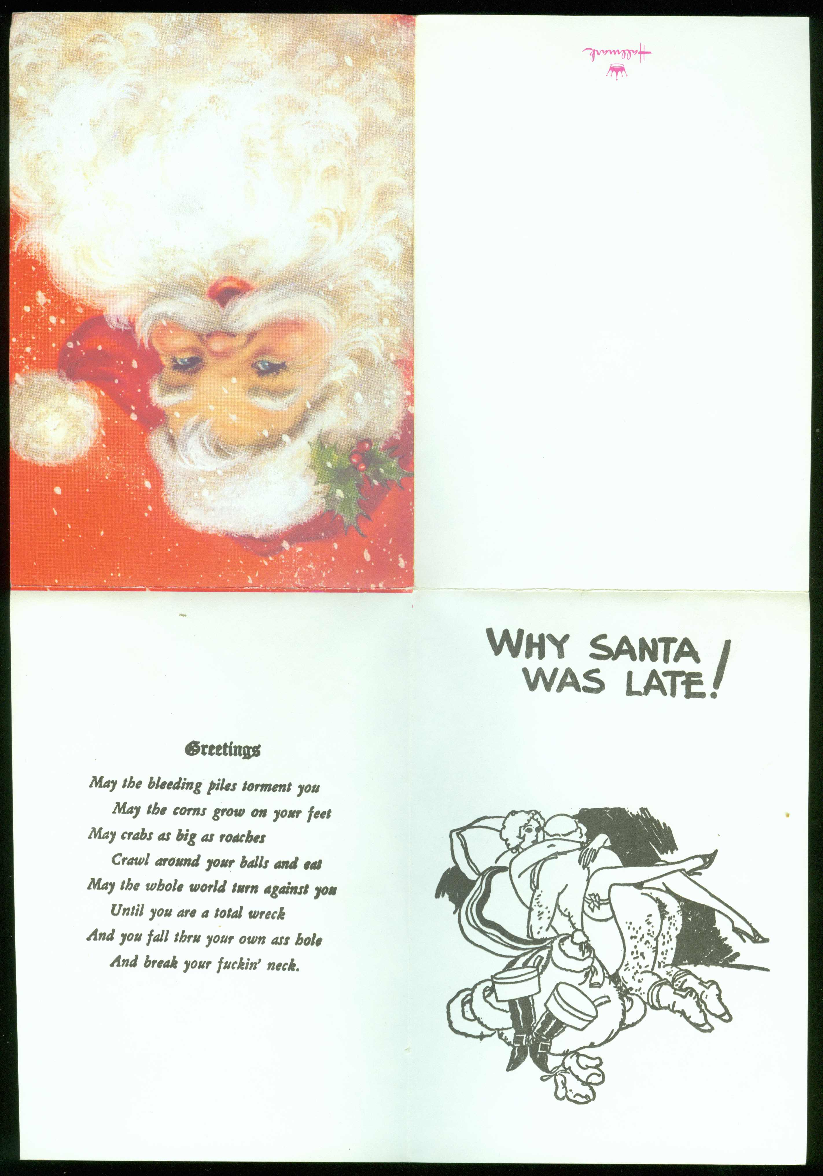 Christmas Card 1930s