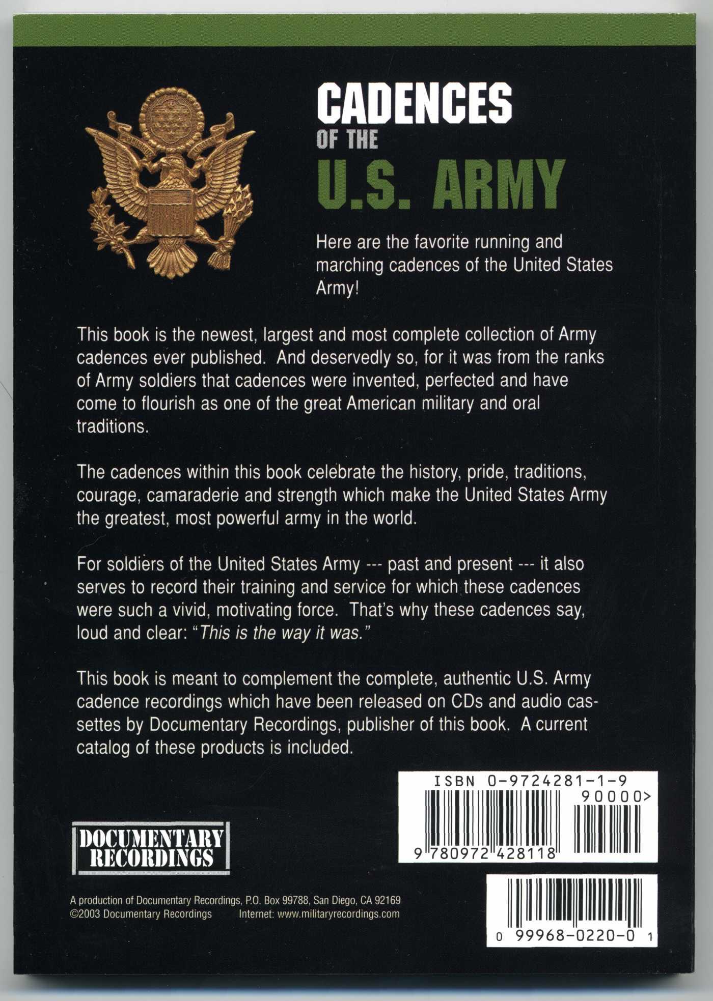 100 Photos of Army Cadences